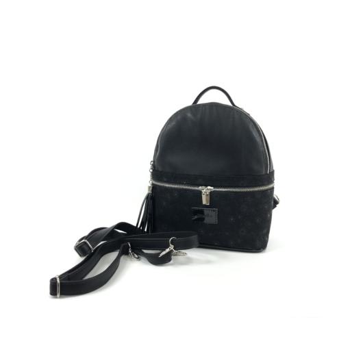 Női hátizsák fekete